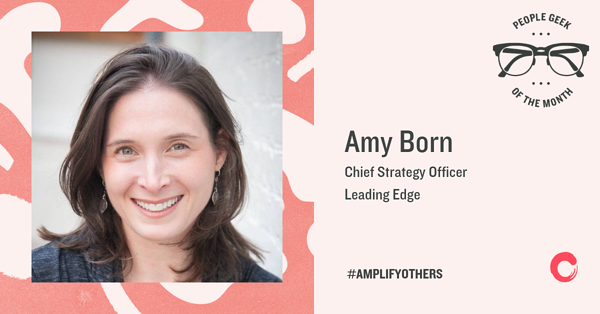 Amy Born People Geek of the Month