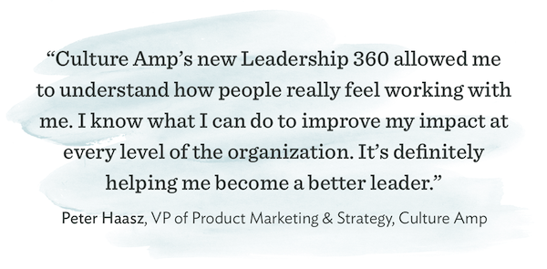 Culture Amp Leadership 360 Survey