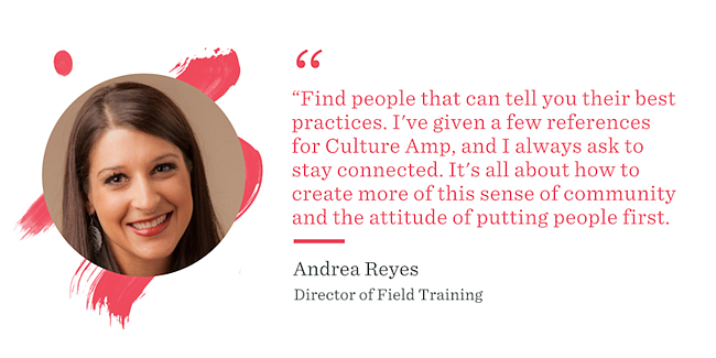 Andrea Reyes | Culture Amp
