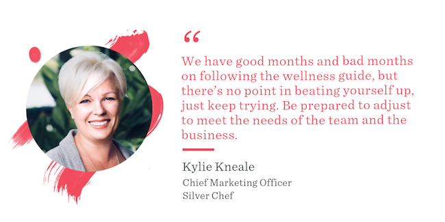 Kylie Kneale Silver Chef